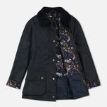 Женская вощеная куртка Barbour Monteviot Wax Navy фото- 1