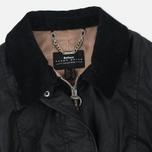 Женская вощеная куртка Barbour x Land Rover Wadeline Wax Black фото- 2