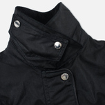 Женская вощеная куртка Barbour x Land Rover Wadeline Wax Black фото- 3