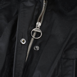 Женская вощеная куртка Barbour x Land Rover Wadeline Wax Black фото- 4