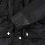Женская вощеная куртка Barbour x Land Rover Wadeline Wax Black фото- 6