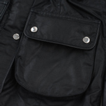 Женская вощеная куртка Barbour x Land Rover Wadeline Wax Black фото- 5