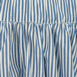 Женская юбка Maison Kitsune Cotton Stripes Estelle Blue Stripe фото- 1