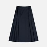 Женская юбка Maison Kitsune Michele Pleated Midi Dark Navy фото- 1