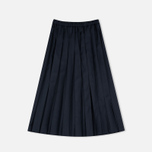 Женская юбка Maison Kitsune Michele Pleated Midi Dark Navy фото- 0