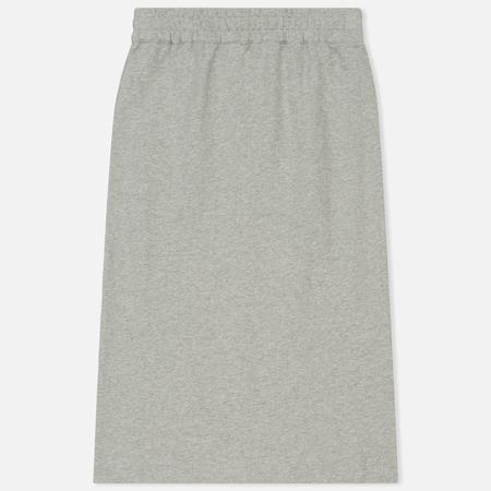 Женская юбка Norse Projects Loni Sweat Mid Grey Melange