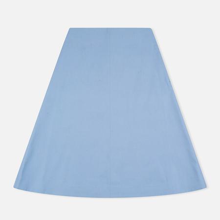 Norse Projects Nessa Cotton Twill Skirt Light Indigo