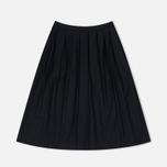 Женская юбка YMC Wool Pleat Black фото- 0