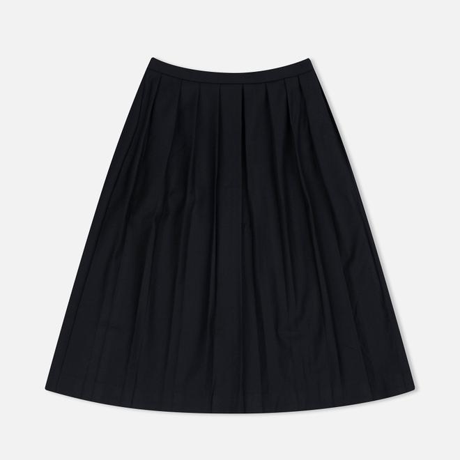 Женская юбка YMC Wool Pleat Black