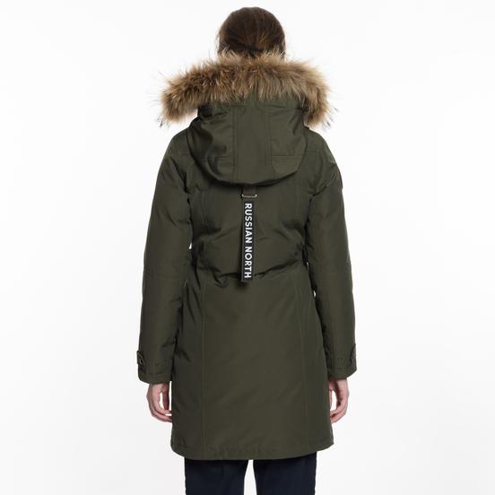 Женская зимняя куртка Arctic Explorer Vera Khaki