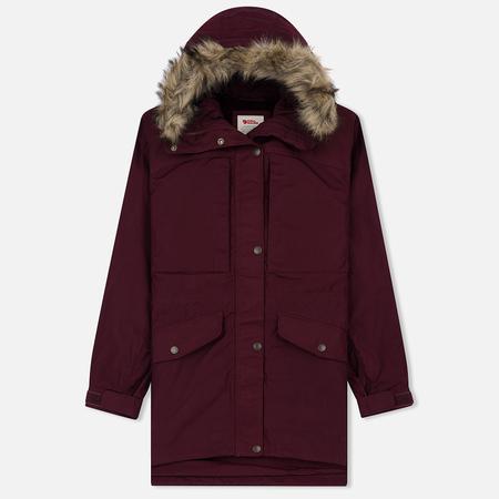 Женская зимняя куртка Fjallraven Singi Winter Dark Garnet