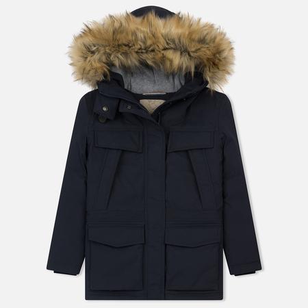 Женская зимняя куртка Napapijri Skidoo Open Long 1 Blue Marine