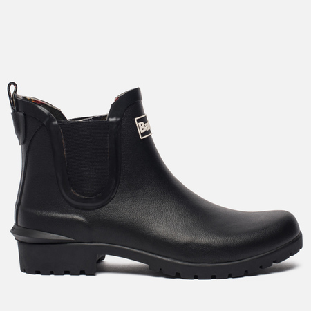 Женские ботинки Barbour Wilton Chelsea Wellington Black