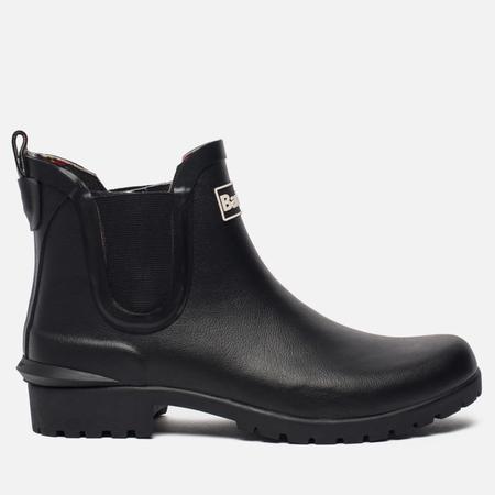 Женские ботинки Barbour Wilton Chelsea Wellington Black