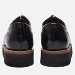 Женские ботинки броги Grenson Lucy Brogue Sole Wedge Black фото- 3