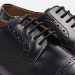 Женские ботинки броги Grenson Lucy Brogue Sole Wedge Black фото- 5