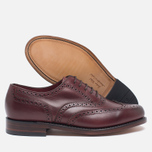 Loake VIV Calf Brogue Women's Brogue Burgundy photo- 2