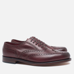 Loake VIV Calf Brogue Women's Brogue Burgundy photo- 1