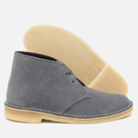 Женские ботинки Clarks Originals Desert Boot Blue/Grey фото- 2