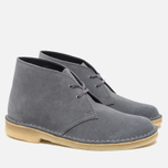 Женские ботинки Clarks Originals Desert Boot Blue/Grey фото- 1