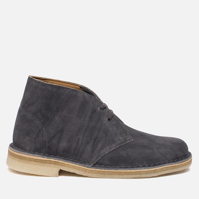 Женские ботинки Clarks Originals Desert Boot Grey Suede