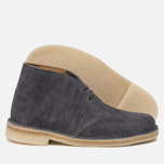 Женские ботинки Clarks Originals Desert Boot Grey Suede фото- 2