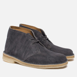 Женские ботинки Clarks Originals Desert Boot Grey Suede фото- 1