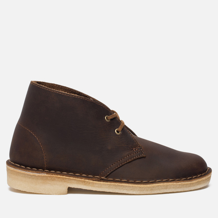 Женские ботинки Clarks Originals Desert Boot Leather Beeswax