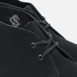 Clarks Originals Desert Boot Suede Women's Shoes Black photo- 5