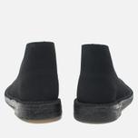 Clarks Originals Desert Boot Suede Women's Shoes Black photo- 3