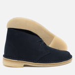Женские ботинки Clarks Originals Desert Boot Suede Dark Navy фото- 1