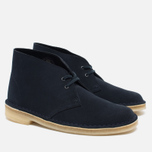 Женские ботинки Clarks Originals Desert Boot Suede Dark Navy фото- 2