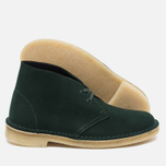 Женские ботинки Clarks Originals Desert Boot Suede Green фото- 2