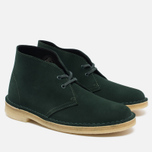 Женские ботинки Clarks Originals Desert Boot Suede Green фото- 1