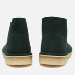 Женские ботинки Clarks Originals Desert Boot Suede Green фото- 3