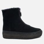 Clarks Originals Jez Iglu Suede Women's Shoes Black photo- 0