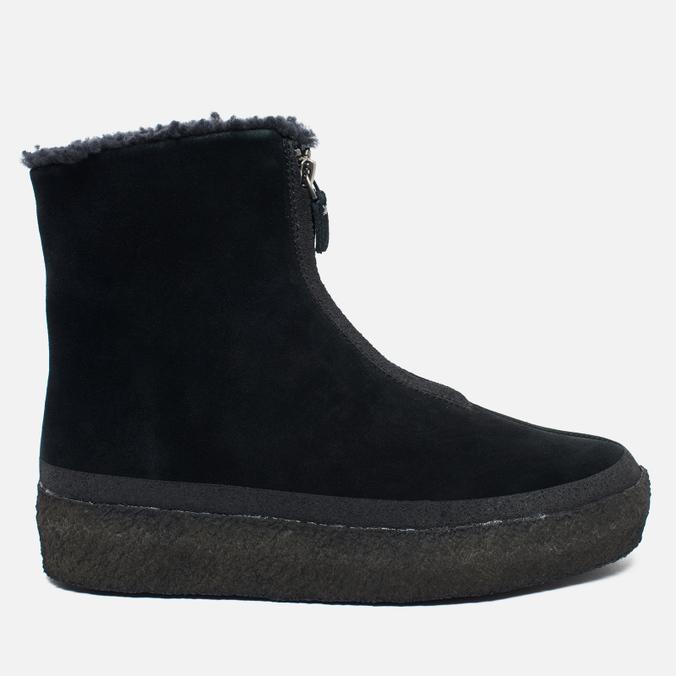 Clarks Originals Jez Iglu Suede Women's Shoes Black