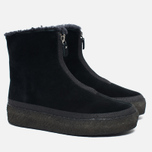 Женские ботинки Clarks Originals Jez Iglu Suede Black фото- 2