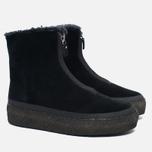 Clarks Originals Jez Iglu Suede Women's Shoes Black photo- 2