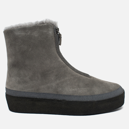 Clarks Originals Jez Iglu Suede Women's Shoes Stone