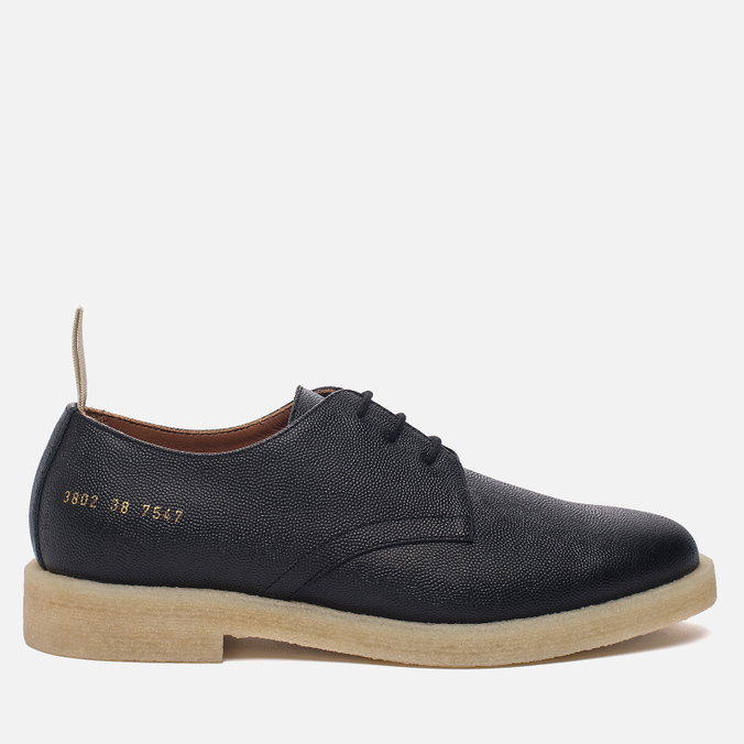 Женские ботинки Common Projects Cadet Derby 3802 Black