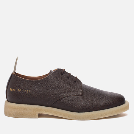 Женские ботинки Common Projects Cadet Derby 3802 Brown