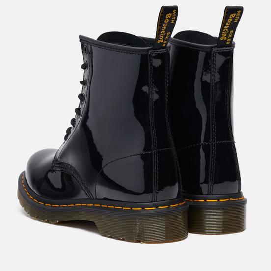 Женские ботинки Dr. Martens 1460 Patent Lamper Black