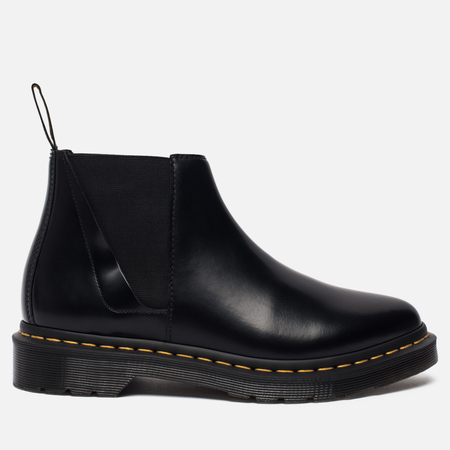 Женские ботинки Dr. Martens Bianca Smooth Polished Chelsea Black
