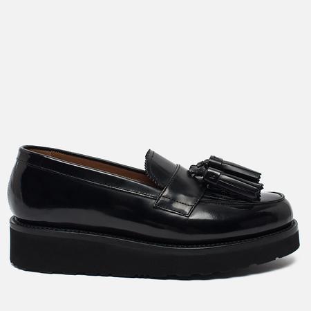 Женские ботинки лоферы Grenson Clara Loafer Sole Wedge Black