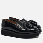 Женские ботинки Grenson Clara Loafer Rub Off Tassell Black фото- 1