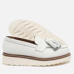 Женские ботинки лоферы Grenson Clara Loafer Sole Wedge White фото- 2