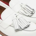 Женские ботинки лоферы Grenson Clara Loafer Sole Wedge White фото- 3