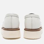 Женские ботинки лоферы Grenson Clara Loafer Sole Wedge White фото- 5