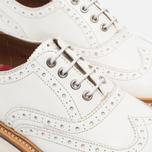 Женские ботинки броги Grenson Emily Brogue Sole Wedge White фото- 3
